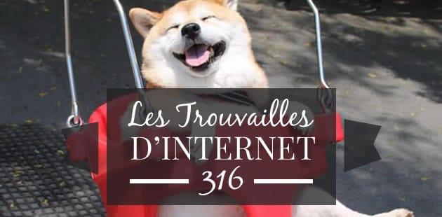 Les trouvailles d'Internet pour bien commencer la semaine #316