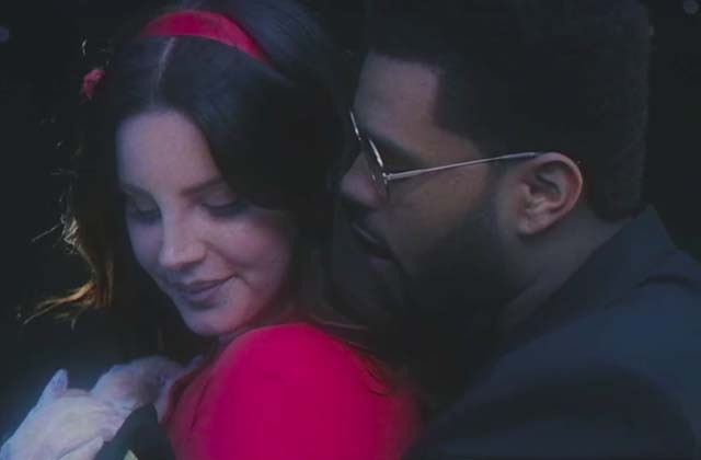 Lana Del Rey roucoule avec The Weeknd dans le clip de Lust For Life