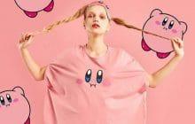 Kirby débarque sur ta lingerie et tes pyjamas pour te rendre plus chou que jamais