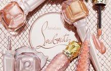 Louboutin joue l'oxymore en alliant métallisé et nude dans une collection de maquillage