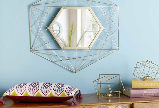 Miroir maison du monde magasin awesome miroir rond en for Casa miroir rond