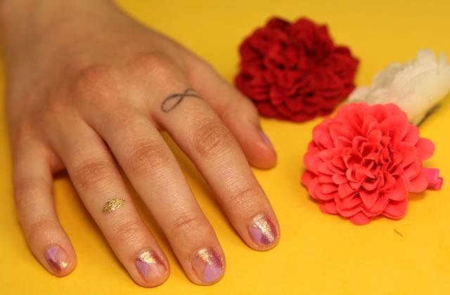 Duo de tutos de nail-art printaniers pour habiller tes ongles en beauté