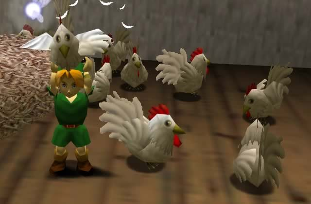 Les vraies stars du jeu vidéo, ce sont les poulets