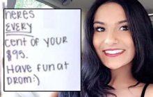 Cette lycéenne a trouvé comment rembourser son ex avec honnêteté tout en prenant sa revanche