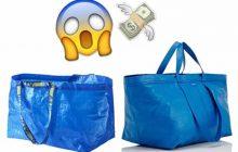 IKEA se moque du sac de luxe qui ressemble farouchement au gros sac bleu