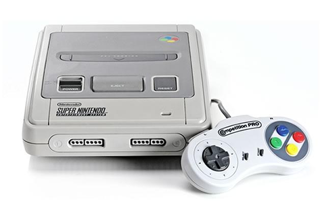 Une version mini de la Super NES pour Noël 2017 ?