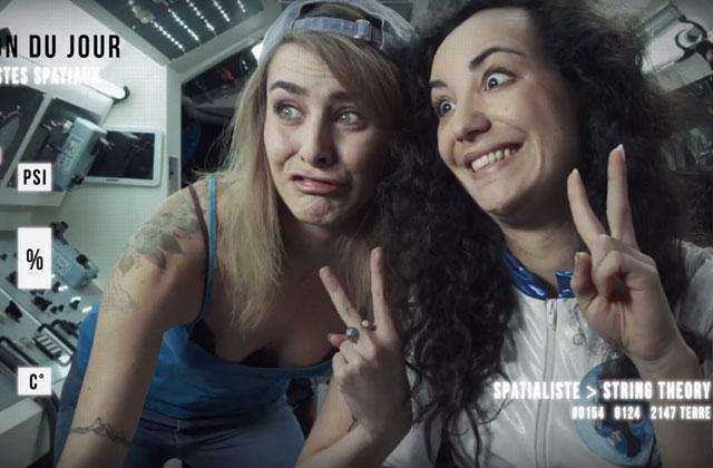 Marion Seclin rejoint les touristes de l'espace chez Florence Porcel!