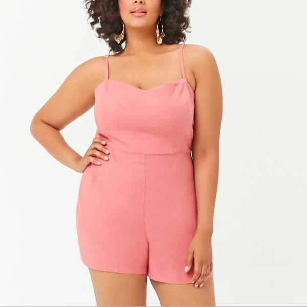 combishort rose forever 21