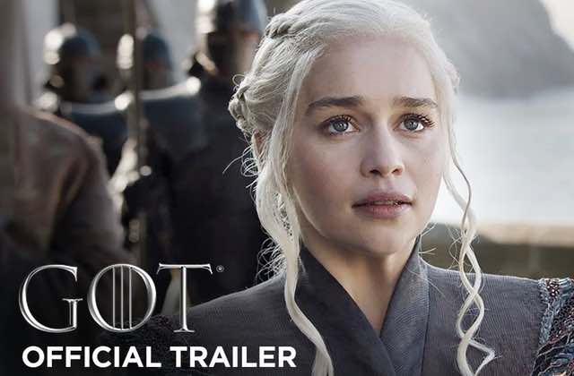 Game of Thrones saison 7 le trailer officiel est sorti!