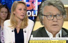 Gilbert Collard, Marion Maréchal-Le Pen et le syndrome de la «mère indigne»