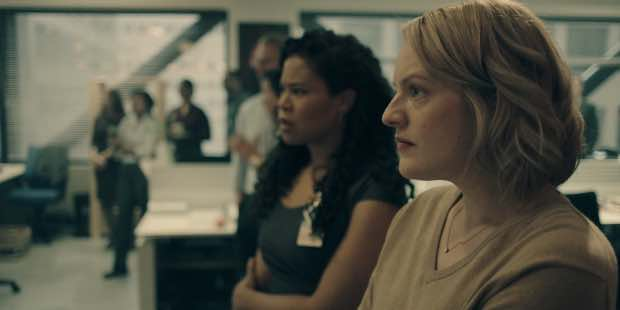 the handmaids tale critique Elisabeth moss stuns in this beautifully adapted, dystopian version of america this review contains no spoilers for the handmaid's tale the fact that it resonated then—and does now, even as .