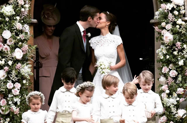 le mariage de pippa middleton quel tait le menu. Black Bedroom Furniture Sets. Home Design Ideas
