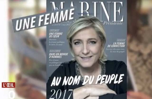 L'Oeil du 20h dévoile le bluff de Marine Le Pen sur les droits des femmes