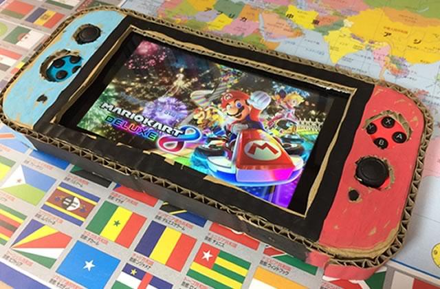 Un père offre une Nintendo Switch à son fils de la plus mignonne des façons