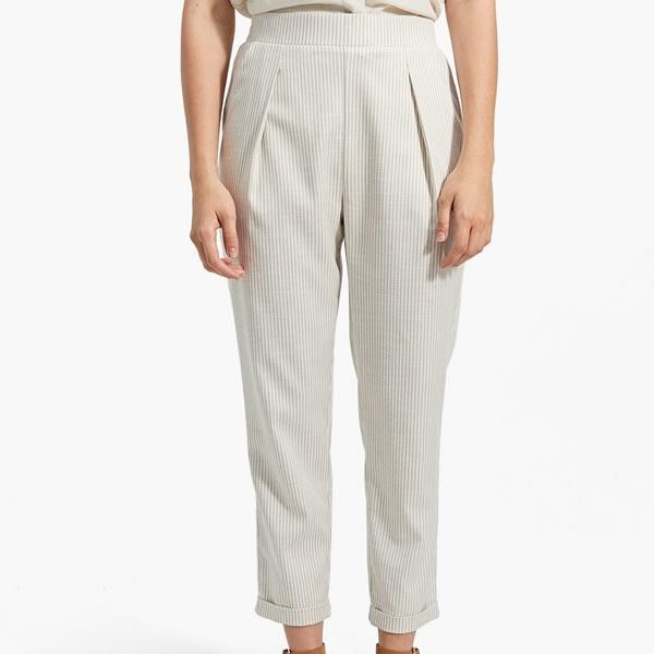 pantalon rayures stradivarius