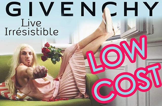 La pub Givenchy low cost d'Alex Ramirès, parfaite pour les fauchées de la fête des mères