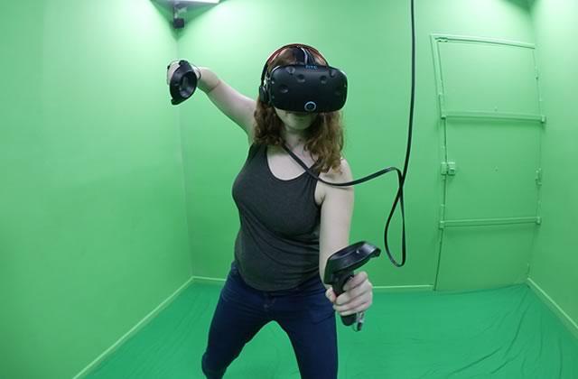 J'ai testé pour vous: une salle d'arcade en réalité virtuelle