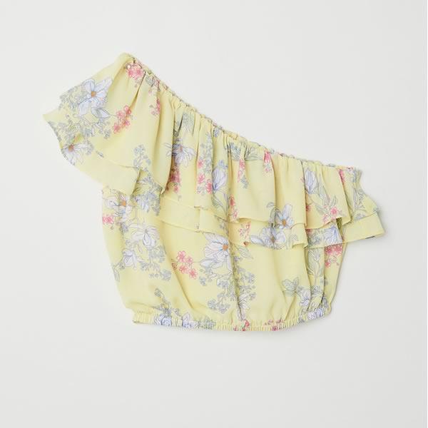 blouse courte h&m