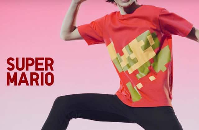 Uniqlo et des artistes de talent ont concocté une collection dédiée à Nintendo!