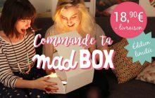 Commande la Madbox, un concentré de madmoiZelle en édition limitée chez toi !