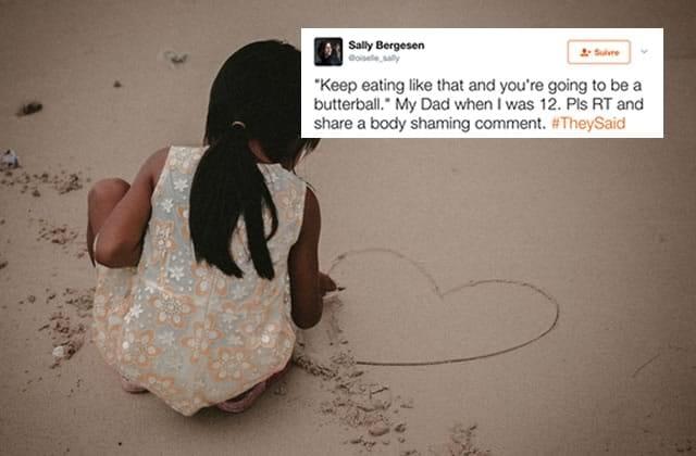 « Personne n'aime les grosses, #TheySaid » : des mots qui blessent dès l'enfance