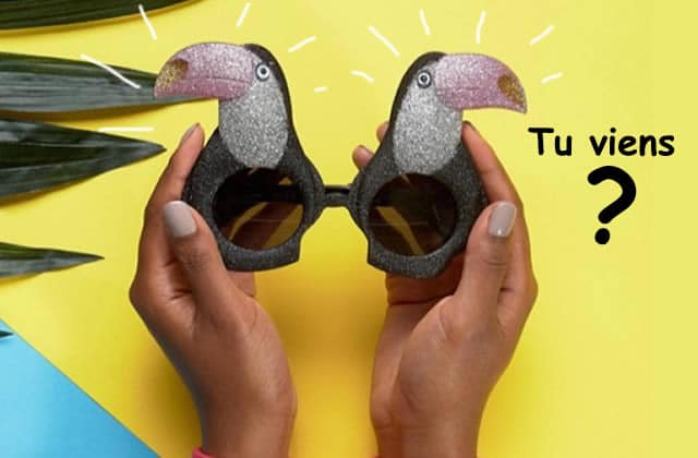 Get The Look «Sous le sunlight des Tropiques» pour la Grosse Teuf du 16juin