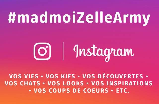 Rejoins la #madmoiZelleArmy sur Instagram et dis-nous comment tu survis à la canicule!