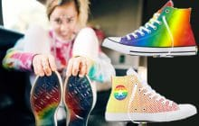 Miley Cyrus collabore aux côtés de Converse pour le Pride Month