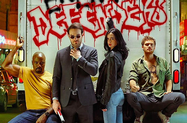 The Defenders unit Daredevil, Jessica Jones, Luke Cage et Iron Fist sur Netflix — Bande-annonce !