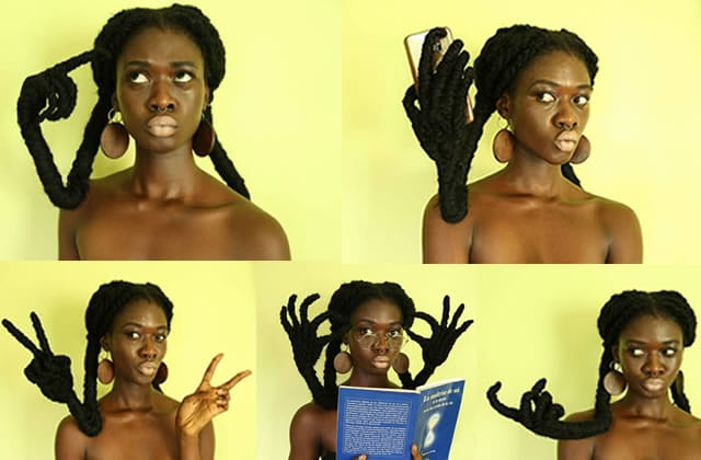 Cette artiste ressemble à un personnage Disney depuis qu'elle a sculpté deux mains dans ses cheveux!