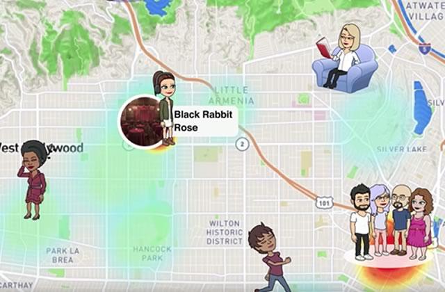 Snapchat vous permet de trouver vos potes avec Snap Map