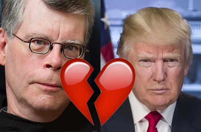 Stephen King et J. K. Rowling s'unissent contre le Grand Méchant Donald Trump