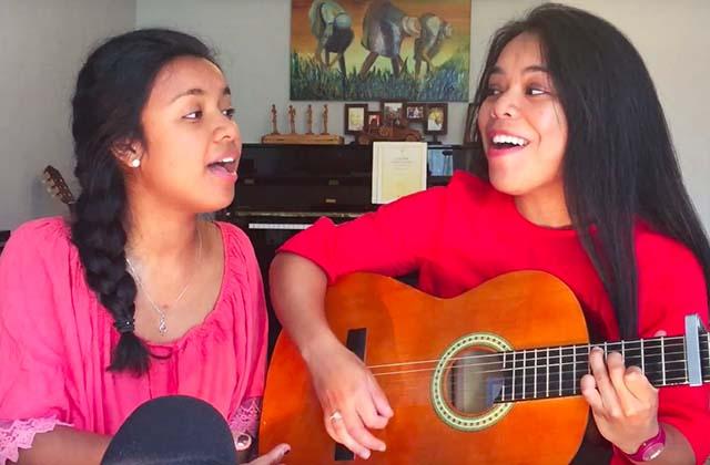 Les sœurs Antsa & Mendrika reprennent avec talent Vianney dans un mashup