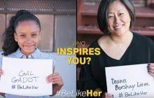 Quelle est votre role model? GoldieBlox vous invite à répondre avec #BeLikeHer