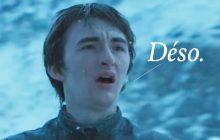 Bran Stark est probablement en train de condamner Westeros et tout le monde s'en fout