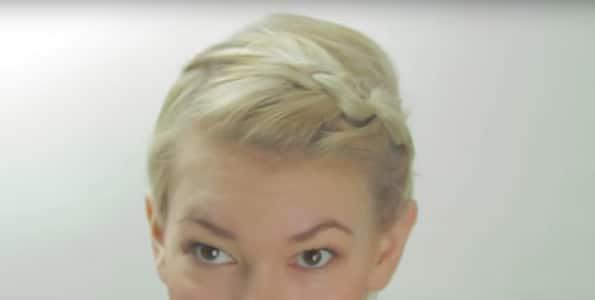 Cheveux Courts Qui Repoussent Idees Pour Savoir Comment Les Coiffer