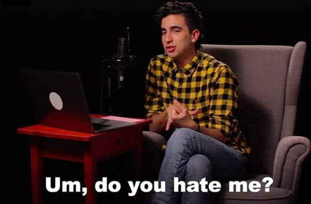 Un youtubeur discute avec un de ses haters, et c'est passionnant