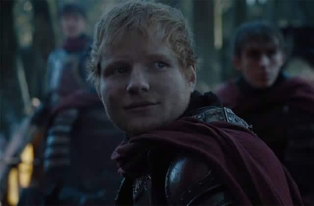 4 trucs qui m'ont traversé l'esprit quand j'ai vu Ed Sheeran dans Game of Thrones