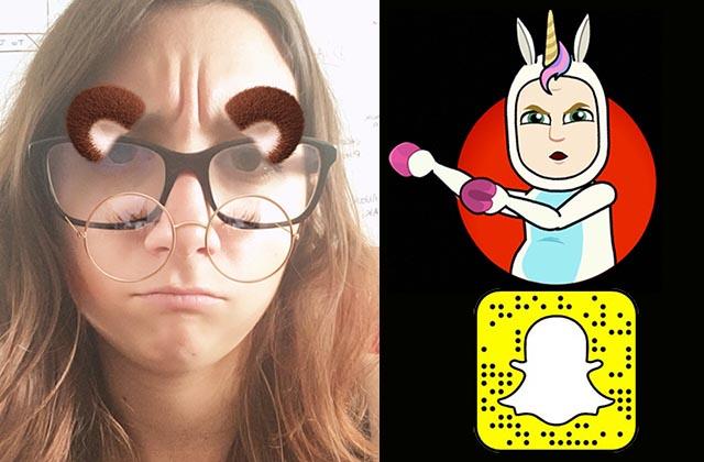 Pamphlet en faveur de la disparition des humiliants filtres Snapchat à lunettes