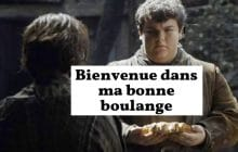 Hot Pie de Game of Thrones lance la boulangerie You Know Nothing Jon Dough !