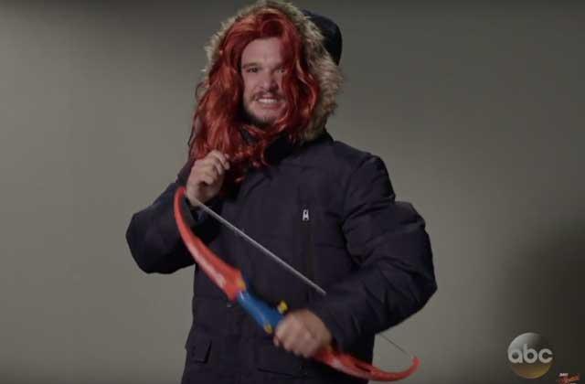 Et si Kit Harington avait décroché un autre rôle que celui de Jon Snow?