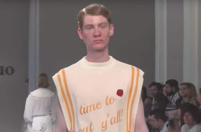 Les boutons d'acné, stars inattendues de la Fashion Week de Milan