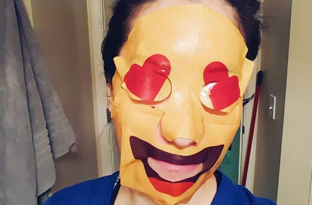 Les masques emojis, pour s'hydrater en fêtant le #WorldEmojiDay