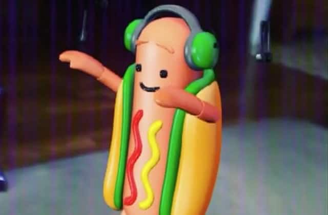 Comment le hot-dog dansant de Snapchat a pris d'assaut Internet