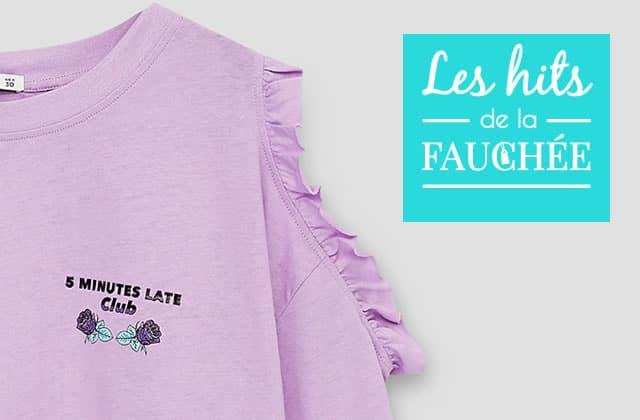 Des t-shirts cool à message ET en solde!—Les 10 Hits de la Fauchée #238