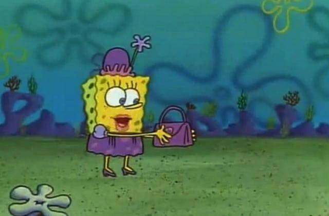 La marque de luxe Salar sort une collection de sacs basée sur… Bob l'éponge