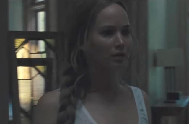 Jennifer Lawrence est dans l'inquiétante bande annonce de Mother!, le prochain Aronofsky