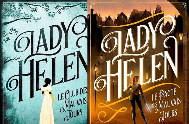 Lady Helen, la série littéraire historique et surnaturelle, à découvrir prestement