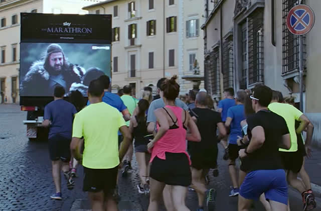 «Marathron», un marathon Game of Thrones au sens propre