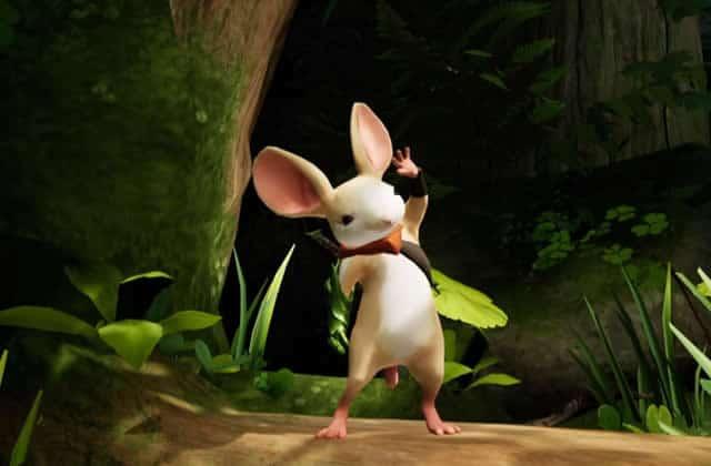 Quill, la petite souris de jeu vidéo qui s'exprime en langue des signes